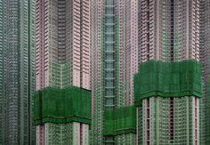 // Michael Wolf / Unheimliche Wohnzellen / Hongkong
