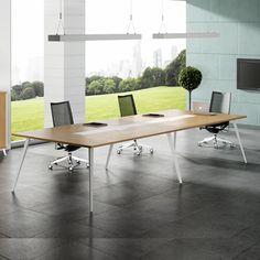 Durable meeting room furniture melamine board modern meeting table used