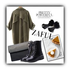 """Zaful 11/2"" by erina-salkic ❤ liked on Polyvore"