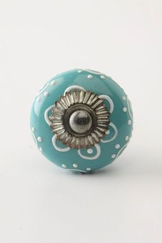 Anthropologie has a great selection of decorative knobs