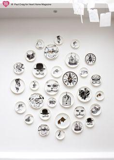 Rory Dobner decorative plates.
