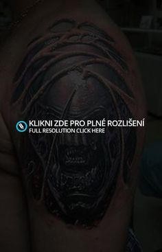 Alien tattoo « Galerie   Tetování.blog.cz