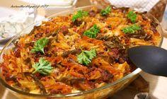 Lautasellesi - Sinu taldrikule: Tomaattinen pasta-jauhelihalaatikko Vol 2 - Tomatine pasta-hakklihavorm Vol 2