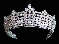 Tiara made by Boucheron and worn at present by Camilla Duchess of Cornwall.