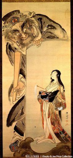 Tattoo Ideas  Inspiration - Japanese Art | KAWANABE Kyosai (1831~1889), Japan