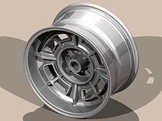 Group 4 Wheels - Replica Cromodora CD68