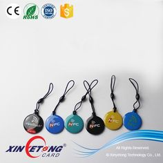 ISO14443A Ultralight RFID NFC Epoxy Smart Key Tag Suit for All the NFC Smart Phone