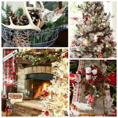 christmas-style-series-rustic-christmas-cabin-chic-christmas-decor – The Happy Housie