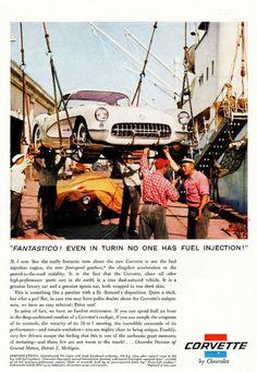 1957 Chevy Corvette Ad