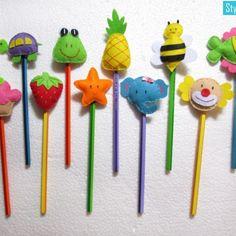 Felt Pencil Toppers
