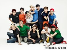 EXOdicted - EXO Fansite: 140521 EXO x Kolon Sport for Instyle Magazine Juni Issue HQ