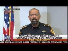 Sheriff David Clarke Gives Epic Press Conference Following Milwaukee Mayhem…