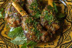 Persian-Spiced Lamb Shanksf