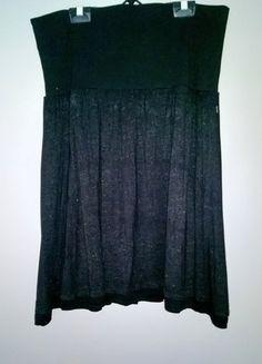 Kup mój przedmiot na #vintedpl http://www.vinted.pl/damska-odziez/spodnice/16630826-czarna-spodnica-36-38-40-rozkloszowana-z-karczkiem-dzianina