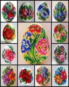"Lovely heart things: Beading: ""Easter eggs"" (Review + scheme)"