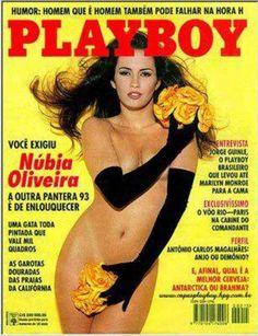 Nubia de Oliveira Playboy Brazil June 1993