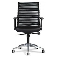 Allseating Zip Mesh Back Task Chair. With bright aluminum finish details, Zip makes a stylish impact in the conference rooms. By providing full back contact and breathability, Zip Mesh delivers the support busy offices need to stay healthy, happy and productive. Available in two stylish mesh patterns. Commercial Office Furniture, Drafting Chair, Stool Chair, Commercial Design, How To Stay Healthy, New Homes, Mesh, Chairs, Zip