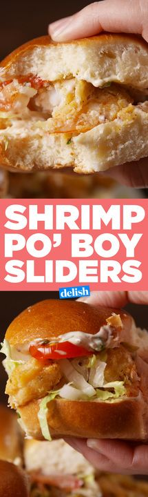 Shrimp Po' Boy Sliders Are Better Than Mardis Gras In The Big Easy