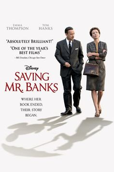 Saving Mr. Banks Official Website presented by Disney Movies....perfectly done and hit so close home. Wonderful movie.