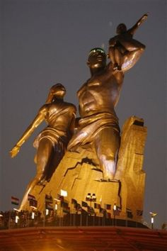 """The African Renaissance Monument"""" in Senegal"""