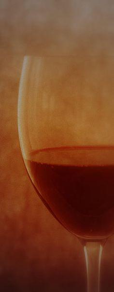 fancy red wine still life