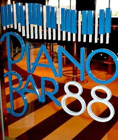 The piano bar was one of my favorite parts of my last cruise!  Sing us a song, piano man...