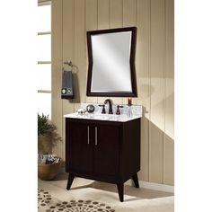 "Sagehill Designs Eaton 30"" Bathroom Vanity Set with Mirror"