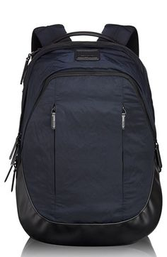 $375, Navy Backpack: Tumi Virtue Courage Backpack. Sold by Nordstrom. Click for more info: https://lookastic.com/men/shop_items/105321/redirect