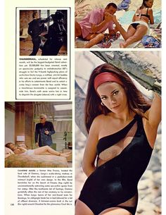 James Bond Women, James Bond Style, James Bond Theme, James Bond Movies, Luciana Paluzzi, Sean Connery James Bond, Daniel Craig 007, Claudine Auger, Bond Series