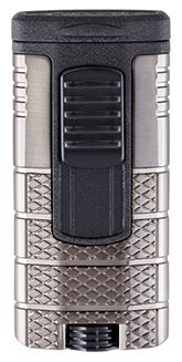 XIKAR Tactical Triple Jet Flame Cigar Lighter in Gunmetal and Black Finish Tobacco Shop, Jefferson Street, Cigar Shops, Premium Cigars, Cigar Lighters, Cigar Accessories, Jet, Black, Black People