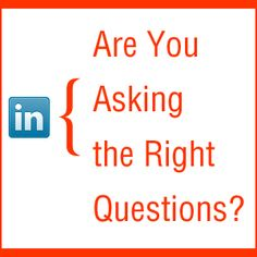 Ask the right questions and you will receive the right answers! Asking The Right Questions, You Ask, Social Media Site, Pinterest For Business, Food For Thought, Quotations, Infographic, Teaching, Thoughts