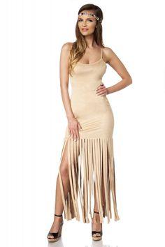 Fransen-Kleid im Western Look - Kleidung Onlineshop