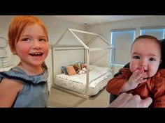 ADLEY and NAVEY - ROOM SWiTCH!! Adley's New Bed, Navey's First Bedroom, Niko's gets a Makeover 🔁 - YouTube Cold Shoulder Romper, New Beds, One Bedroom, Getting Out, Aliens, Youtube, Youtubers, Youtube Movies