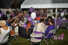 WOI Purple  Affair bbq