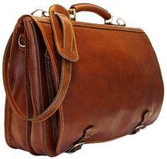 Floto 4010 Piazza Leather Messenger Bag
