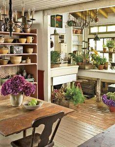 Have garden inside for colder areas