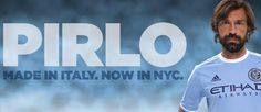 Andrea Pirlo in een #NYCFC shirt