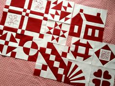 block of month  can't top red & white quilts.