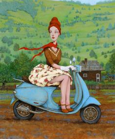 """Frilly in the Valley"" by Fred Calleri"