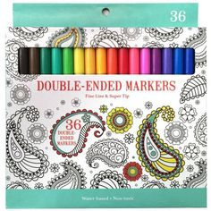 These markers work great in the Cricut Explore air without using any kind of adapter. I was able to find them at my local Walmart. #markers #cricutexplore #papercrafts