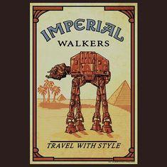 Star Wars AT-AT Imperial Walkers T-Shirt