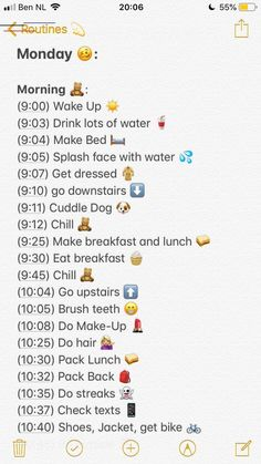 Beauty Routine Schedule, Skin Care Routine For 20s, Self Care Routine, Beauty Routines, Skincare Routine, Morning Routine School, School Routines, Night Routine, Morning Routine Chart