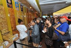 Inside the pop-up store, fans could sample different flavors of existing Lay's potato chips flavors.