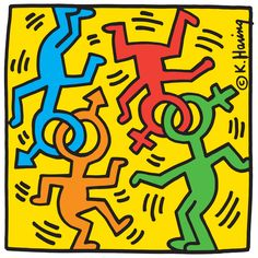 Keith Haring Nyc Pride Print on canvas, print on high quality paper, print on wo. Keith Haring Nyc Pride Print on canvas, print on high quality paper, print on wo. Norman Rockwell, Keith Haring Art, Keith Haring Poster, Keith Haring Prints, Pop Art, Queer Art, Principles Of Art, Canvas Prints, Art Prints