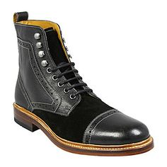 jcp | Stacy Adams® Madison II Cap-Toe Mens Leather Boots