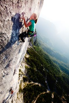 BD athlete Barbara Zangerl makes first female ascent of 11-pitch End of Silence (8b+) // Black Diamond Journal