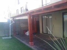 PERGOLAS Y QUINCHOS Backyard Kitchen, Backyard Patio, Blessed Mother, Patio Design, Bbq, Cases, Outdoor, Ideas, Gardens