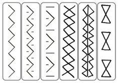 Grafomotoričke vežbe – šabloni | Nadarena deca