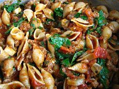 two foodies & a pup: Hearty & Healthy Italian Pasta Bake