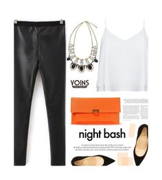 """""""Yoins 30/3.3"""" by merima-kopic ❤ liked on Polyvore featuring Alice + Olivia, Louis Vuitton, Christian Louboutin, yoins and yoinscollection"""